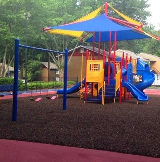 Sterling Glen apartments exterior playground